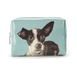 Catseye - Etching Dog Large Beauty Bag