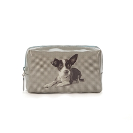 Catseye - Etching Dog Beauty Bag