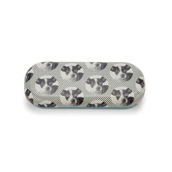 Catseye - Etching Dog Glasses Case