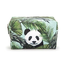 Catseye - Panda In Palms Wash Bag