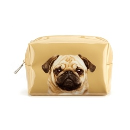 Catseye - Pug On Caramel - Beauty Bag Large