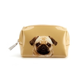 Catseye - Pug On Caramel - Beauty Bag