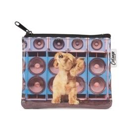 Catseye - Speaker Dog - Coin Purse