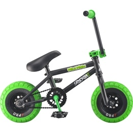 Rocker - Irok+ MiniMain Grön Mini BMX Cykel