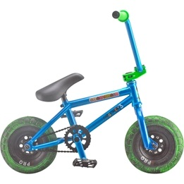 Rocker - 3+ Crazymain Blue Mini BMX Cykel