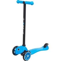 Globber - Primo Fixed Sparkcykel Till Barn Svart T-Bar - Blå