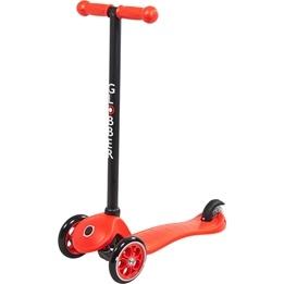 Globber - Primo Fixed Sparkcykel Till Barn Svart T-Bar - Röd
