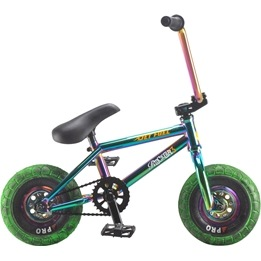 Rocker - 3+ Crazymain Jet Fuel Freecoaster Mini BMX Cykel