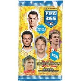 Fotbollskort - Paket Nordic Edition Panini Adrenalyn XL FIFA 365 2017-18