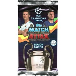Fotbollskort - Paket 2017-18 Topps Match Attax Champions League (Nordic Edition)