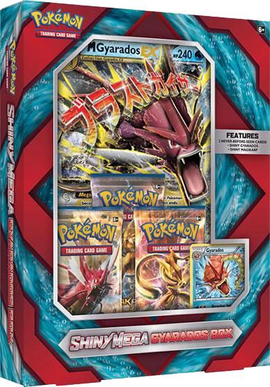 Pokemon Shiny Mega Gyarados Box Litenleker Se