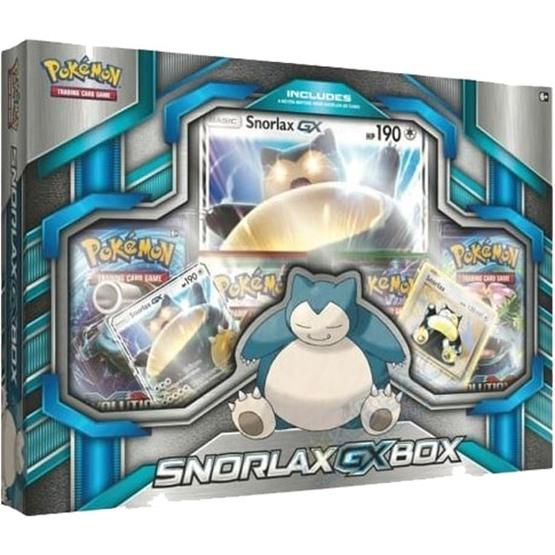 Pokémon - Snorlax GX box