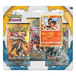 Pokémon - Sun & Moon - Trippelblister: Litten