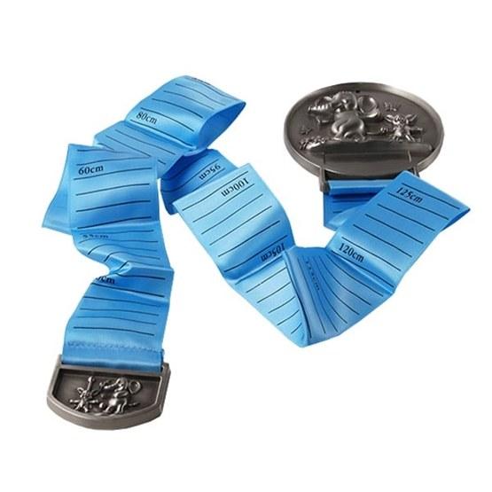 Dacapo Silver - Väggtavla M Blått Måttband Och Gravyrplatta