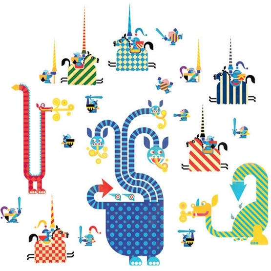 Väggdekor Alfabetet : Väggdekor från djeco hittar du här litenleker