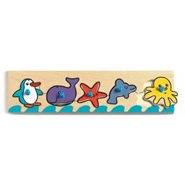 Djeco - Pussel - Djur Från Havet