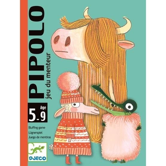 Djeco - Kortspelet Pipolo