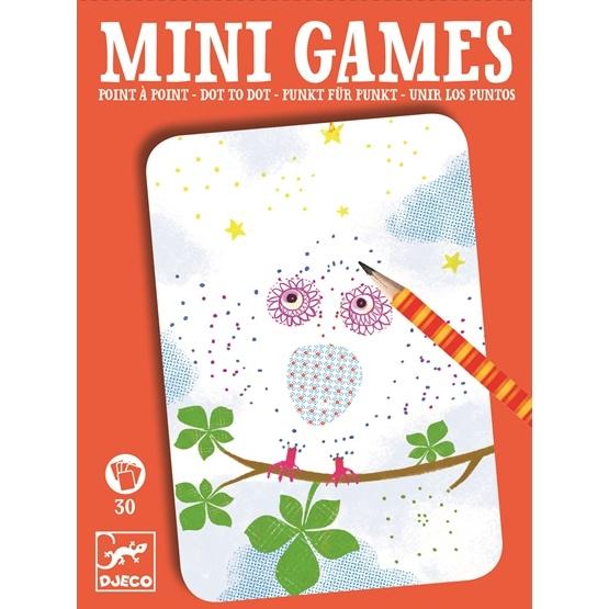 Djeco - Minispel - Punkt Till Punkt