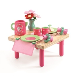 Djeco - Lily Roses lunch set