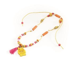 Djeco - Necklace - Bronze Owl