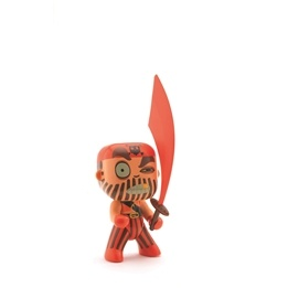 Djeco - Arty Toys - Piraten Captain Red