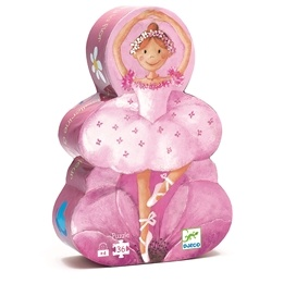 Djeco - Pussel - Ballerina Med Blommor
