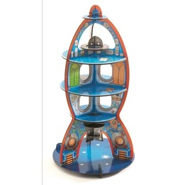 Djeco - 3D Pussel - Rymdraketen