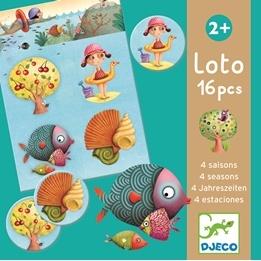 Djeco - Lotto-4 Årstider
