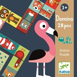 Djeco - Domino - Djur