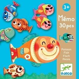 Djeco - Memory-Fiskar