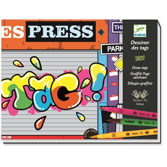 Djeco - Draw tags