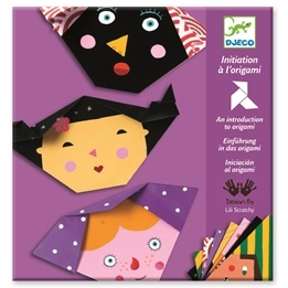 Djeco - Origami - Ansikten