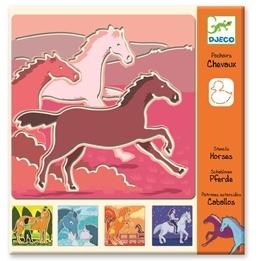 Djeco - Schabloner - Häst