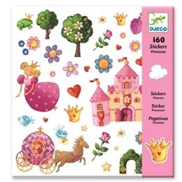 Djeco - Klistermärken Prinsessa