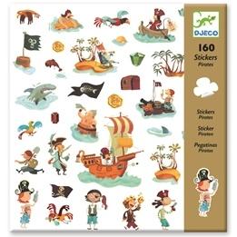 Djeco - Klistermärken - Pirater