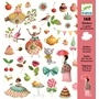 Djeco - Stickers - Princess Tea Party