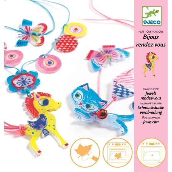 Djeco - Magic Plastic - Kitten And Pony
