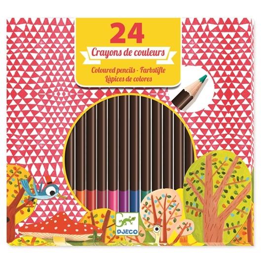 Djeco - 24 Pencils