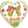 Djeco - Klädhängare - Miss Cat