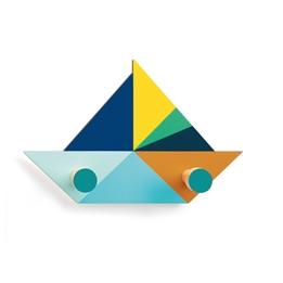 Djeco - Coat Hanger - Boat