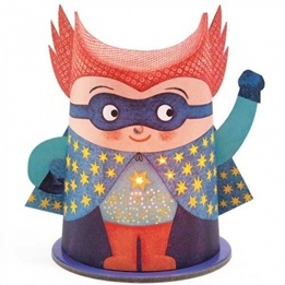 Djeco - Nattlampa - Mini Night Light - Mister Super