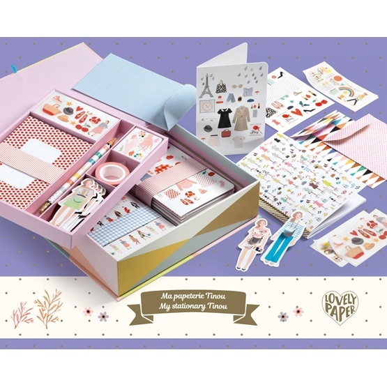 Djeco - Pysselset - Tinou Box Set