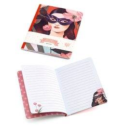 Djeco - Anteckningsbok - Notebook Fedora