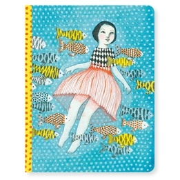 Djeco - Anteckningsbok - Notebook Elodie
