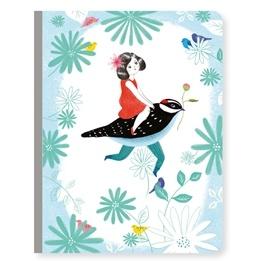 Djeco - Anteckningsbok - Notebook Chichi