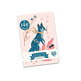 Djeco - Lucille stickers notebook (146 pcs)