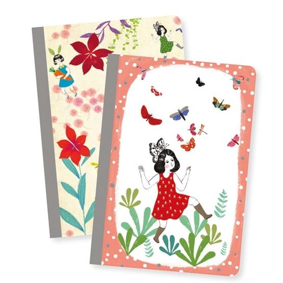Djeco - Anteckningsbok - Chichi Little Notebooks