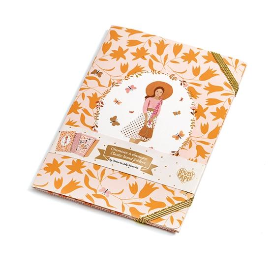 Djeco - Tinou, Elastic Band Folders
