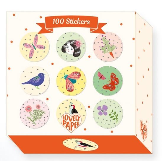 Djeco - Stickers - Chichi