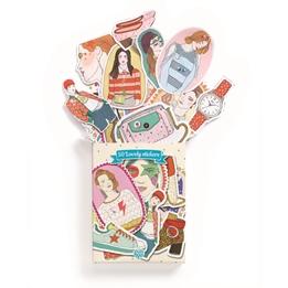 Djeco - Klistermärken - 50 stickers Nathalie